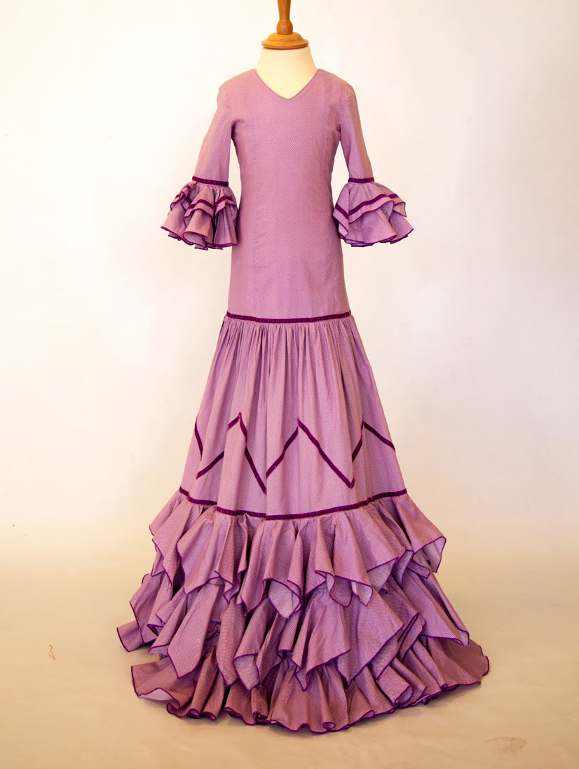 alquiler de trajes de flamenca
