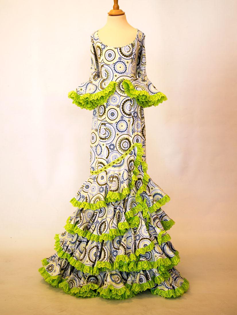 alquiler de traje de flamenca diseñador