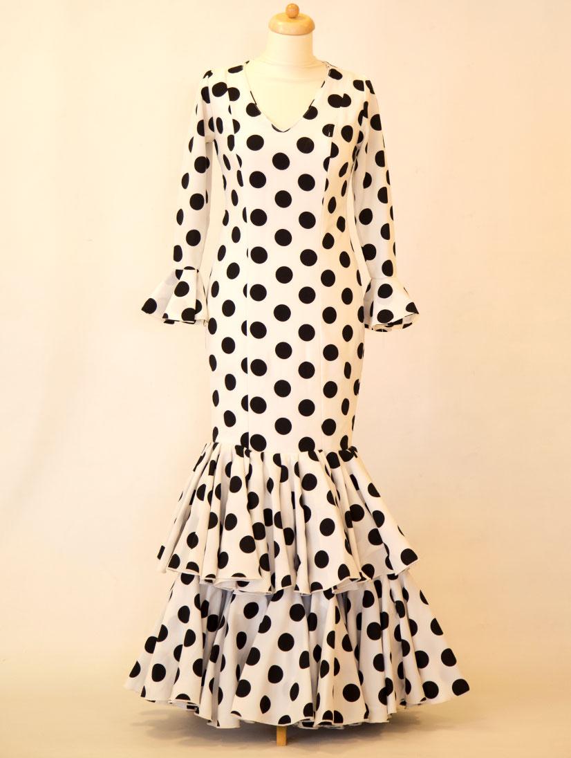 Vestido de sevillama