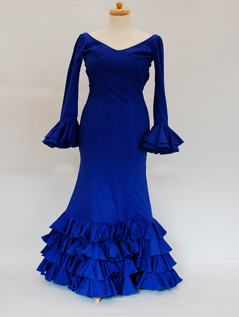 Traje de flamenca Diseñadora Rocío Peralta
