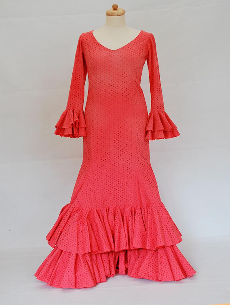 alquiler traje de flamenca