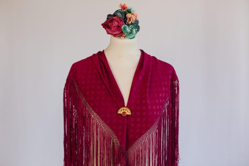 BeFlamenca Mantón vestido de flamenca