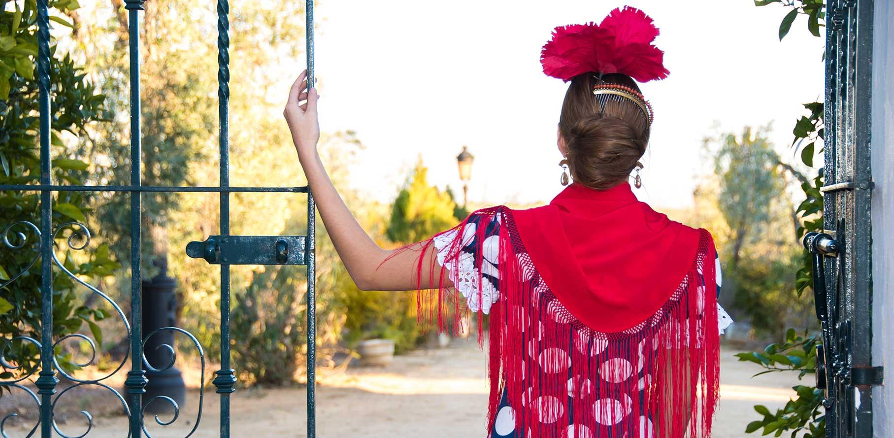 alquiler trajes de flamenca