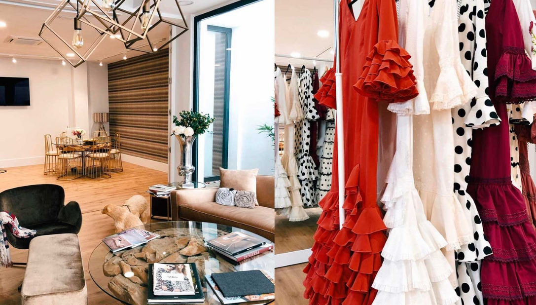 Alquiler vestido de flamenca feria