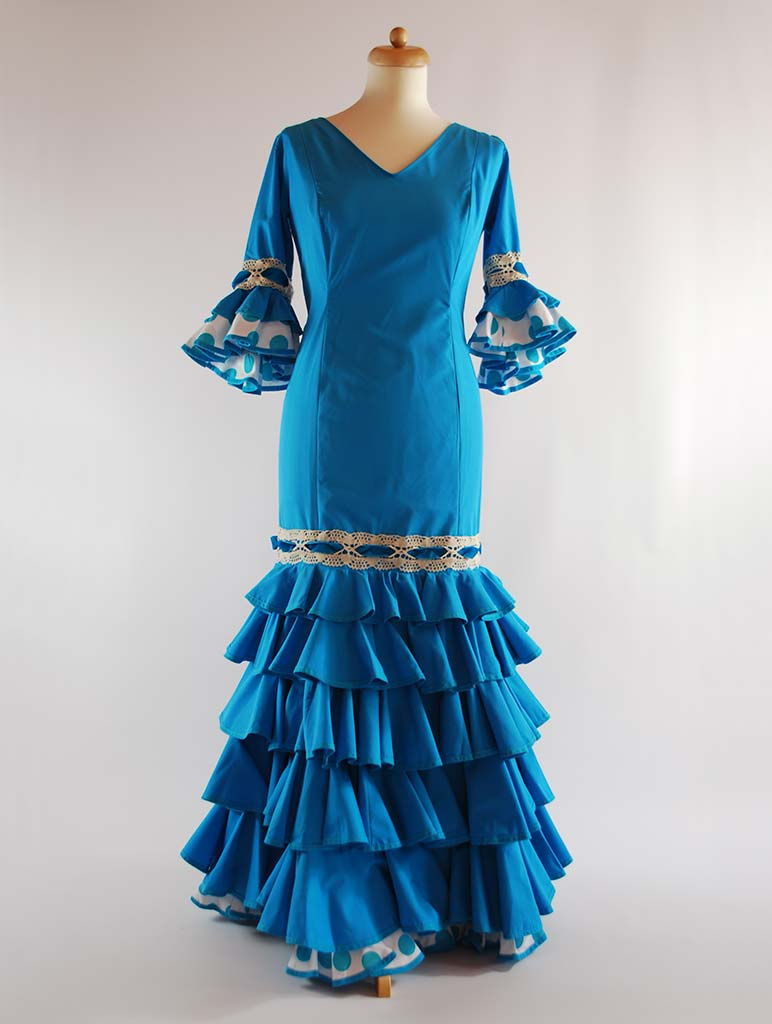 traje de flamenca talla grande