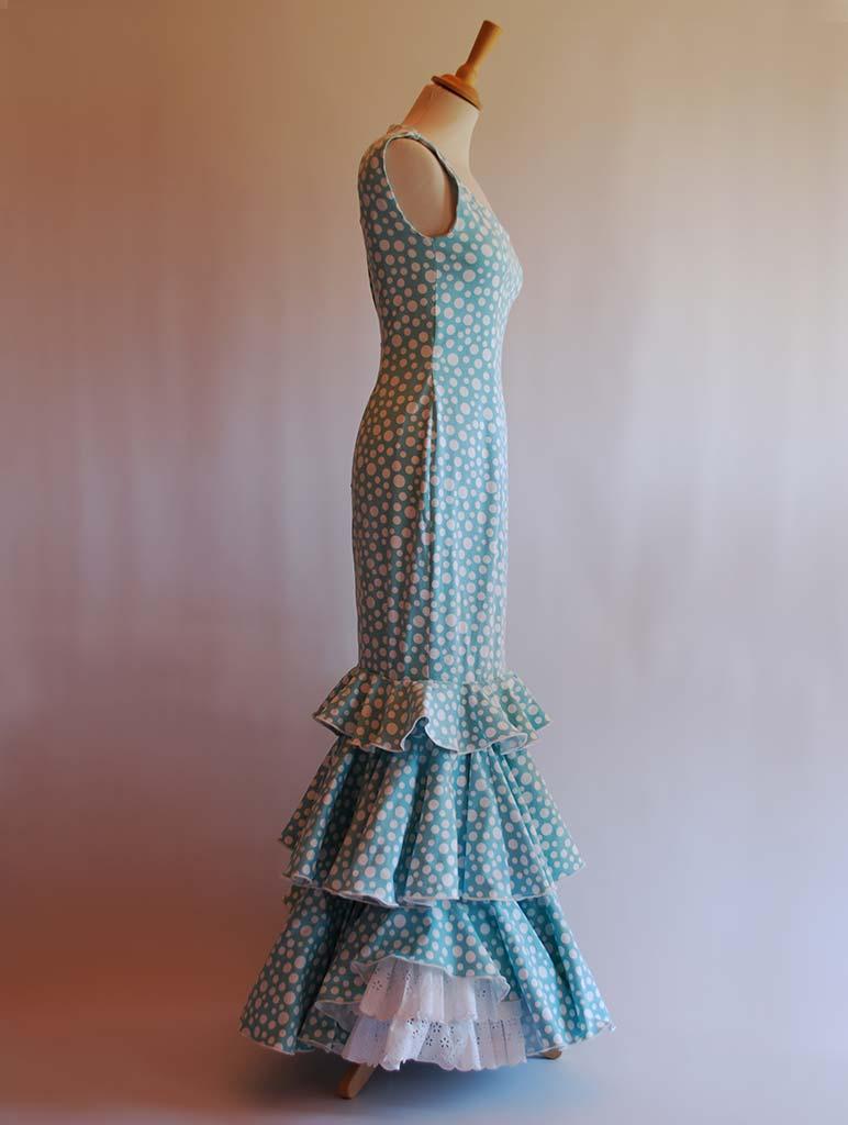 Alquiler traje de flamenca diseñador