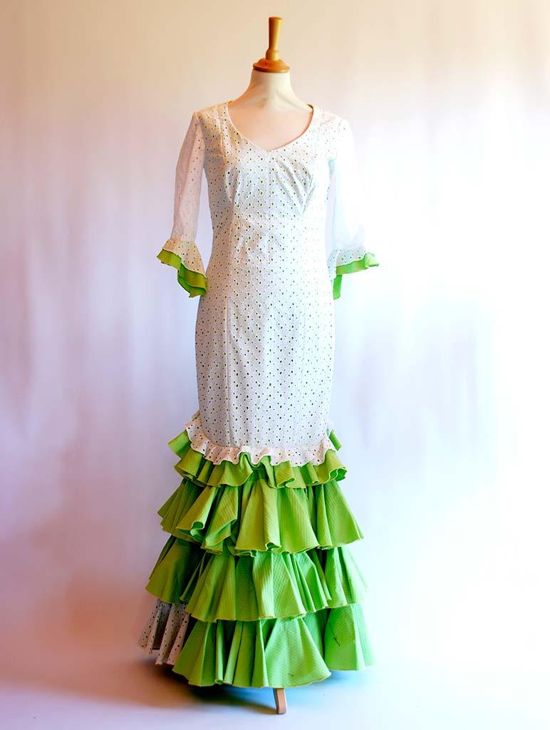 beflamenca alquilar vestido sevillana