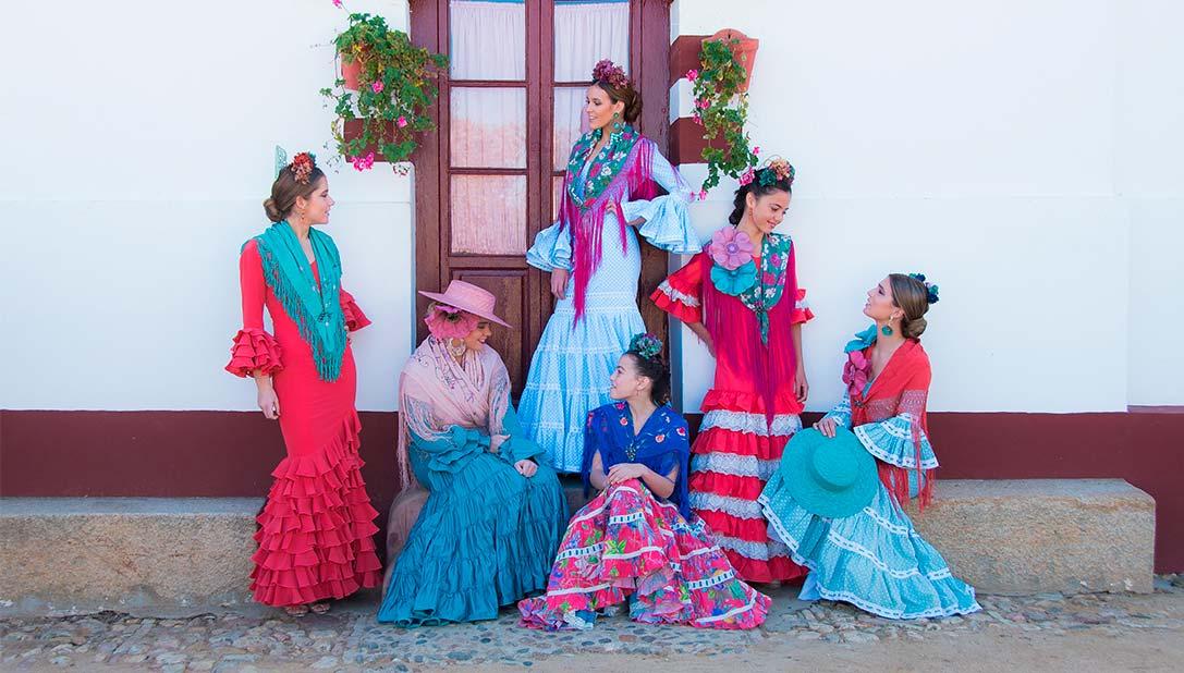 Alquiler traje de flamenca. Rentabiliza la moda flamenca