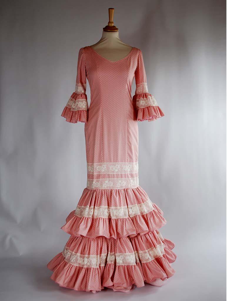 Alquiler Traje de flamenca Carmen Latorre  d1c531e1634