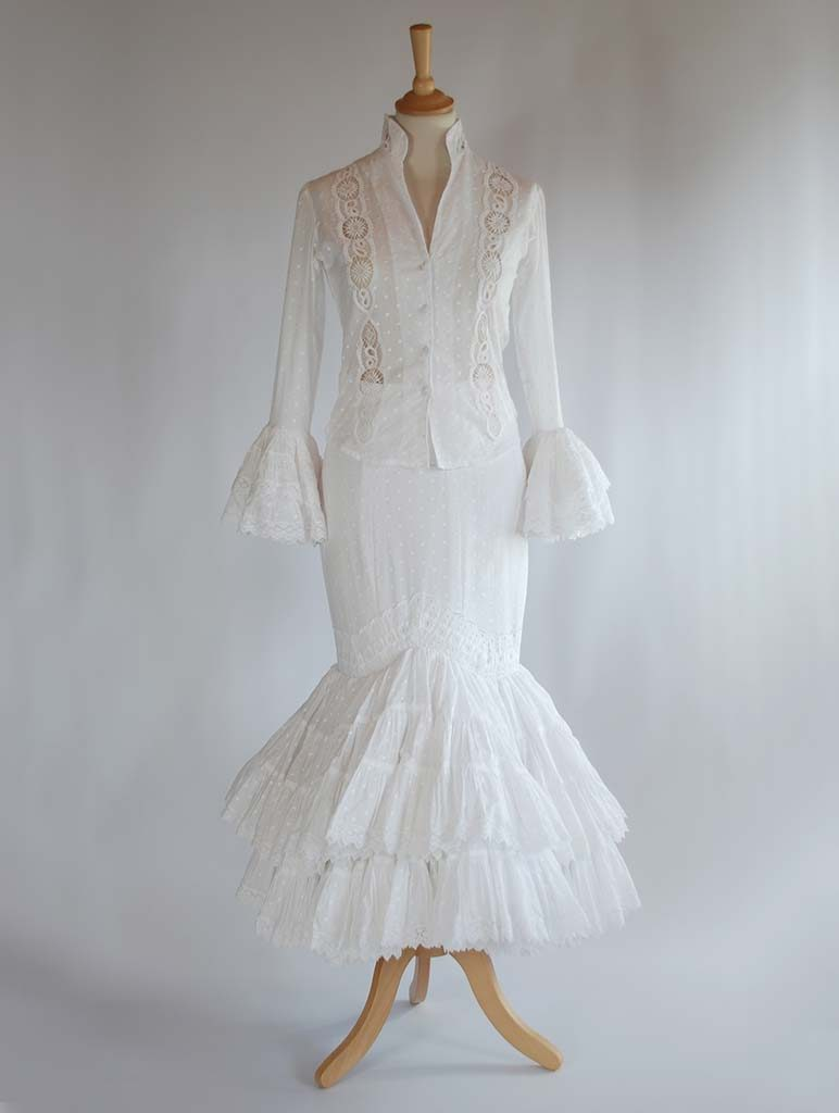 traje de flamenca de diseñador