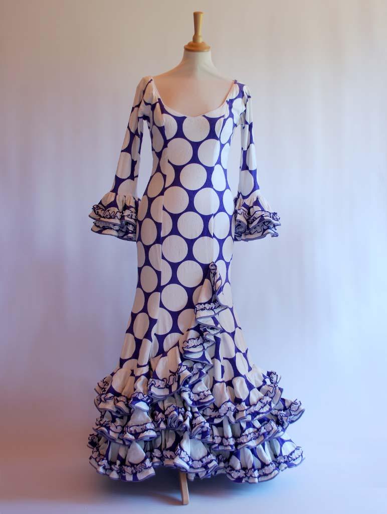 Traje de flamenca diseñadora Pepa Garrido