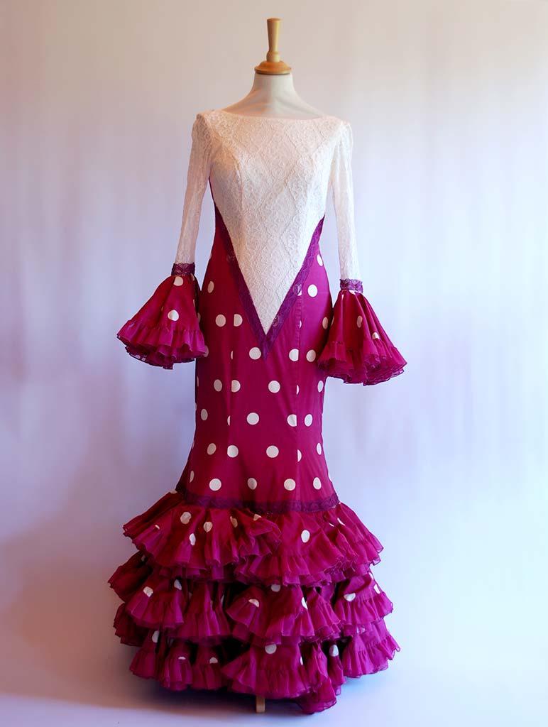 alquilar trajes de flamenca