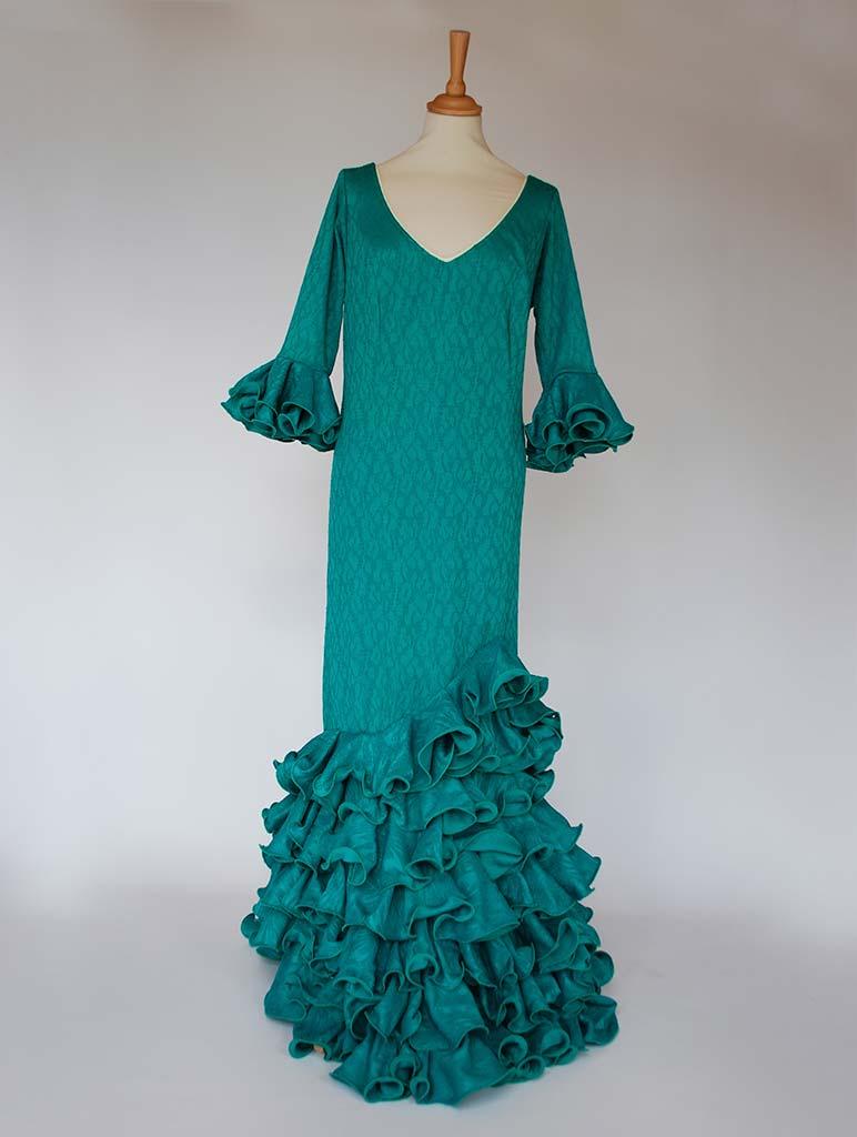 beflamenca. alquiler traje de flamenca