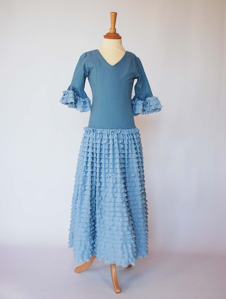 Vestidos de flamenca madrid alquiler