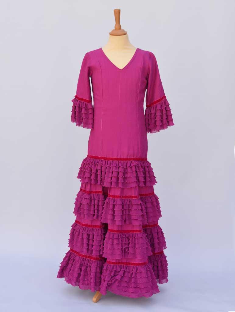 alquiler vestido sevillana