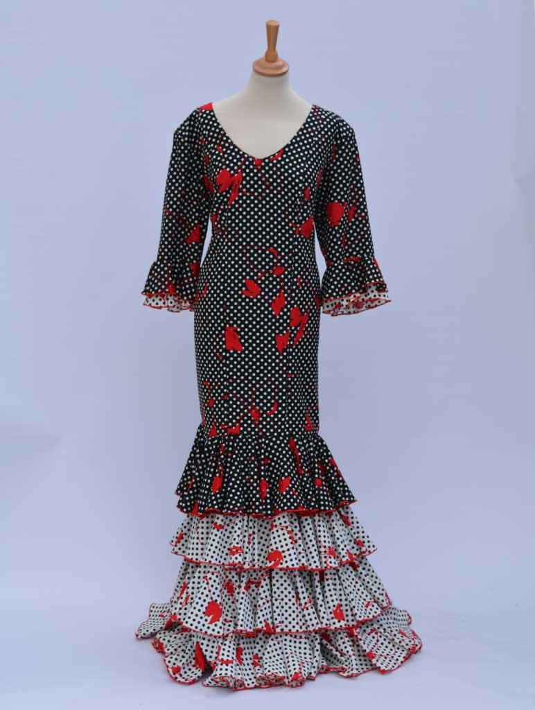 Beflamenca. Alquiler vestidos sevillana tallas grandes