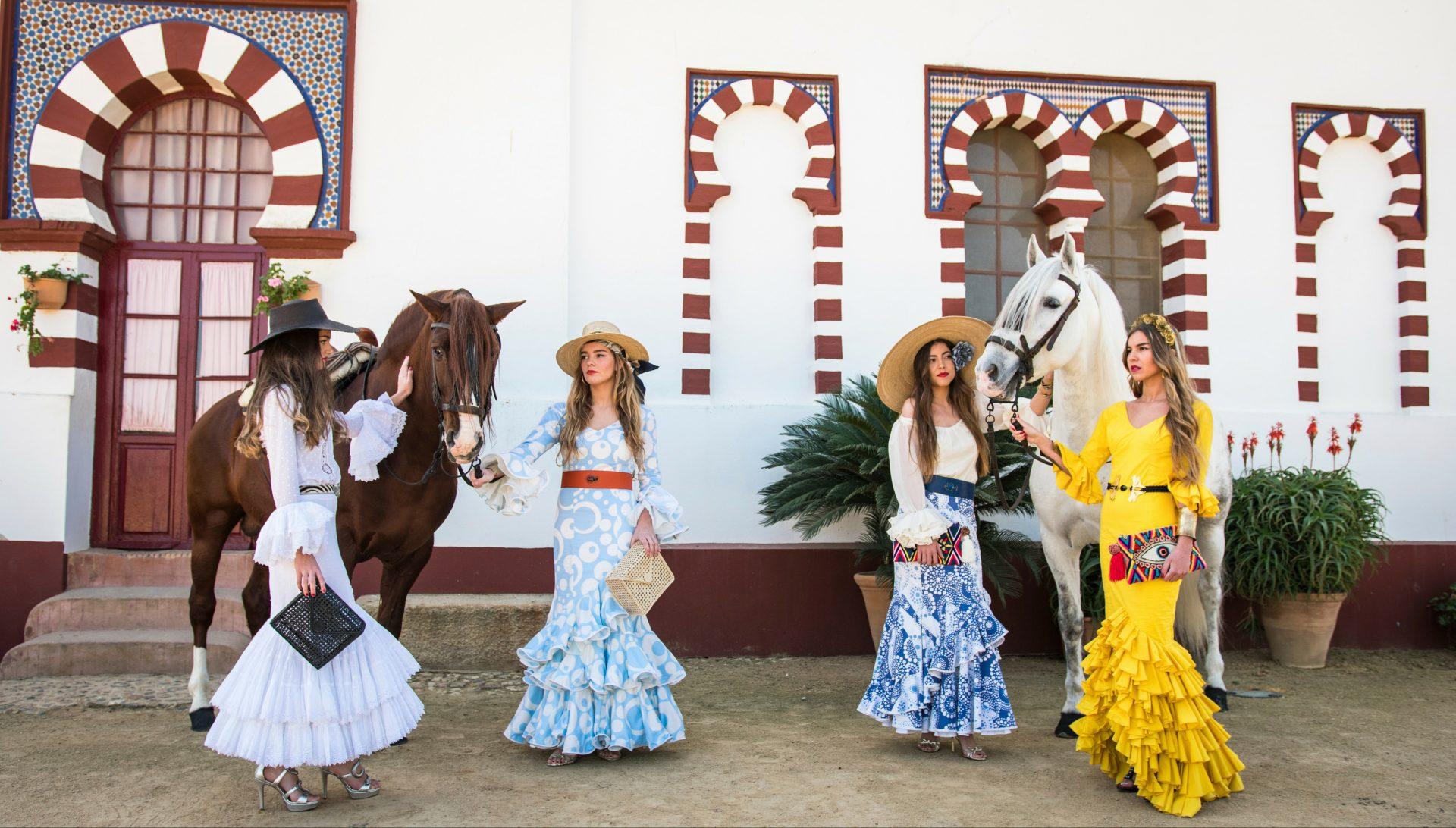 moda flamenca para ferias y romerías