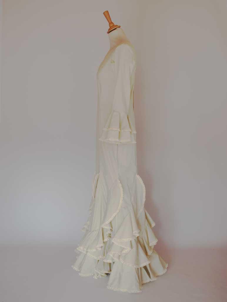 alquiler vestido flamenca